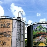 Tanks der Distillerie Depaz